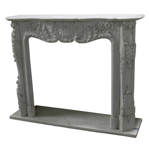 *FPS--11 White Marble Fireplace Surround* SP Order
