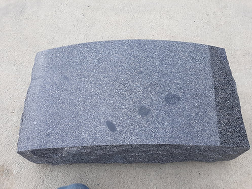 MN-304 Dark Gray Convex Slant Monument