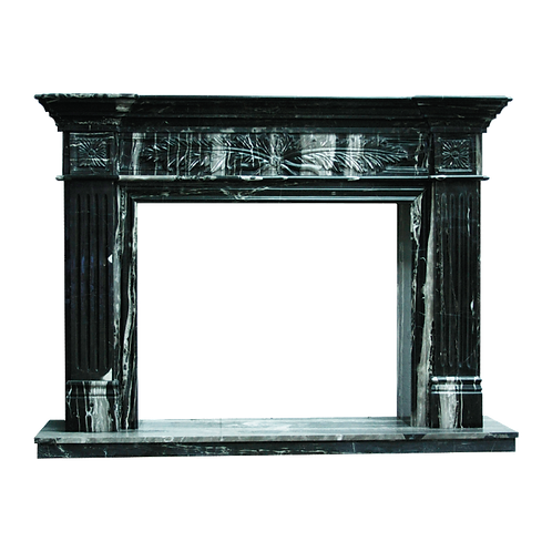 FPS-01 Black and White Marble Surround