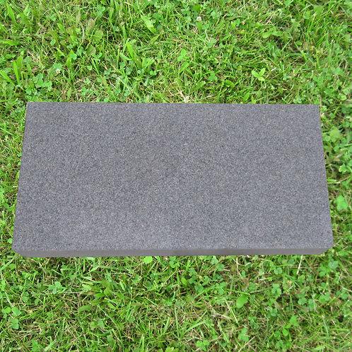 MN-235 Gray Granite Monument Flat 20x14x4