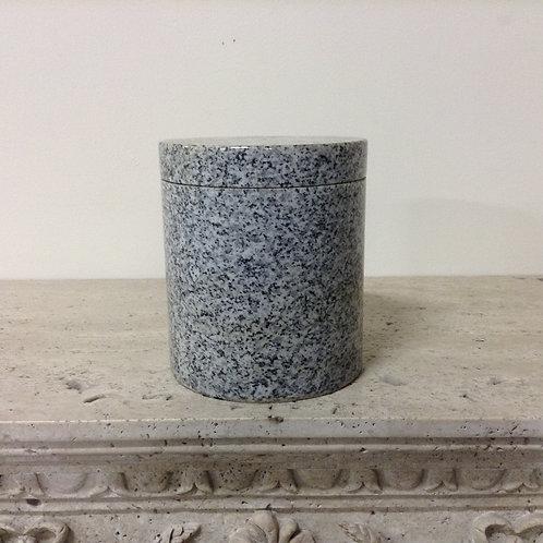 7x6 Granite Lunar Pearl Cyliner Urn-G