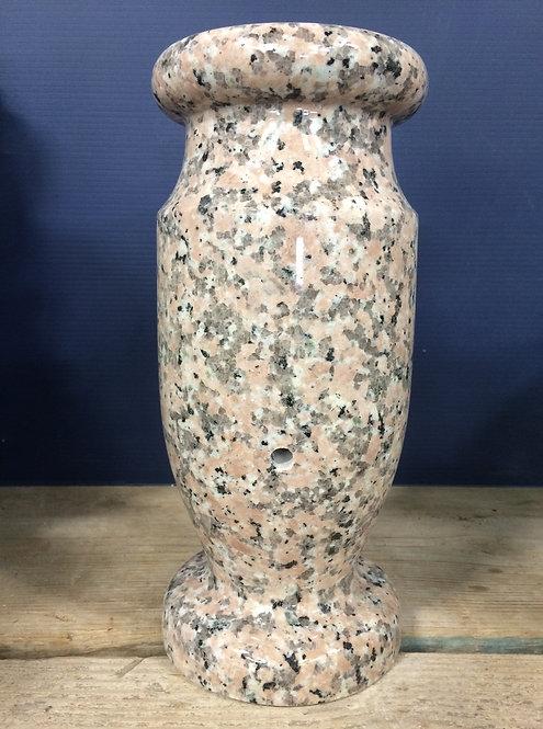 Tropical Sunrise Granite Monument Vase 12x6-A