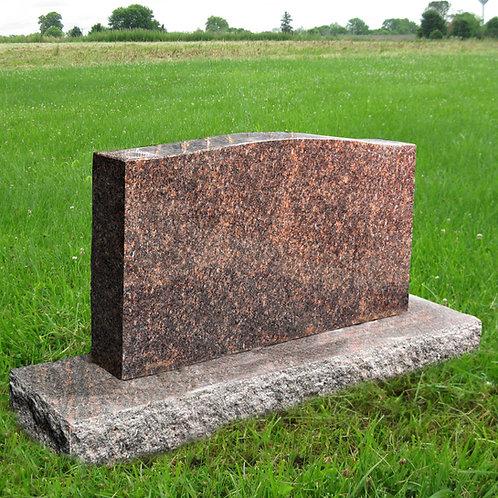 MN-31 American Dakota Granite Cemetery Tombstone