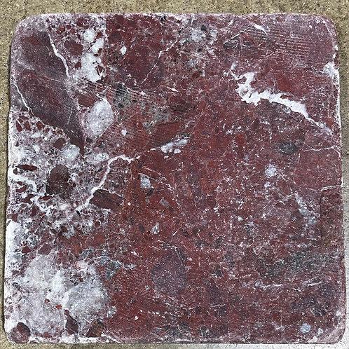 T-98 6x6 Rosso Levanto Natural Stone Tile