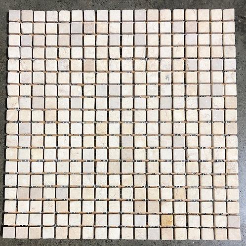 T-39 12x12 Jerusalem Gold Mosaic Natural Stone 1/2x1/2 Tile