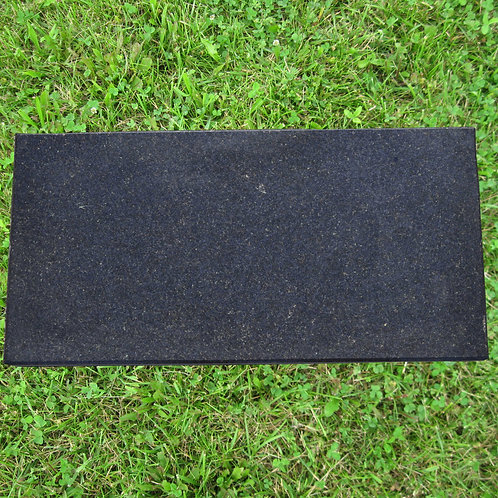 MN-140 Black Galaxy Granite Flat Stone