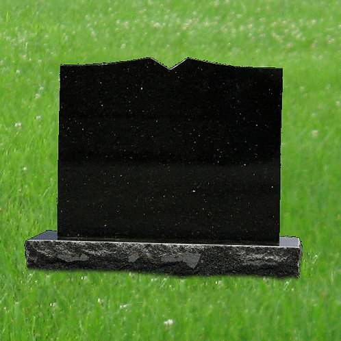 MN-76* Absolute Black Granite Mini Headstone