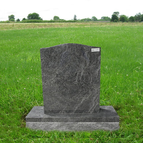 MN-117* Bahama Blue Small Granite Monument