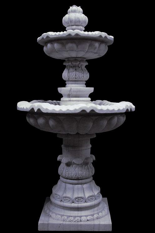 "FT-15 Cararra Marble 52"" Tall Fountain"
