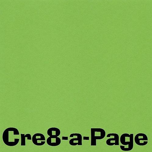 Grass Green Cardstock Paper 8.5x11 65#