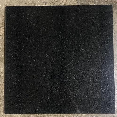 T-97 18x18 Absolute Black Granite Tile