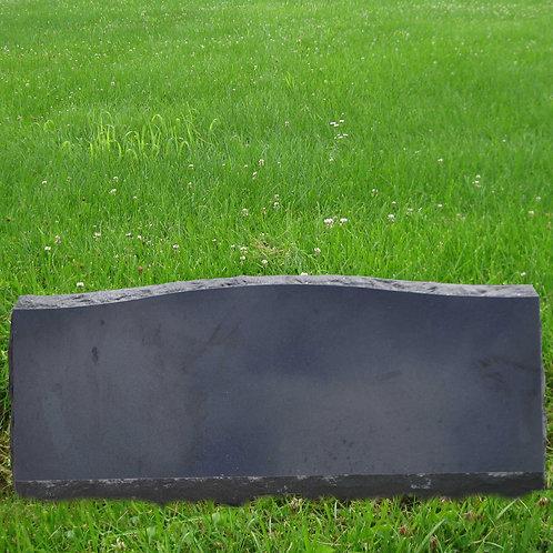 MN-173 Absolute Black Granite Slant Marker