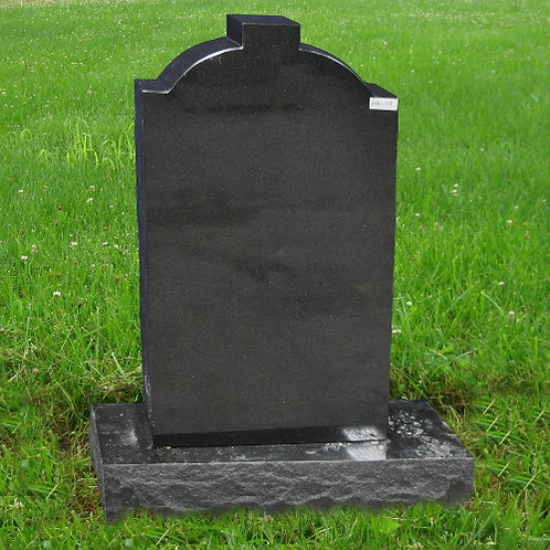 MN-119 Absolute Black Granite Monument