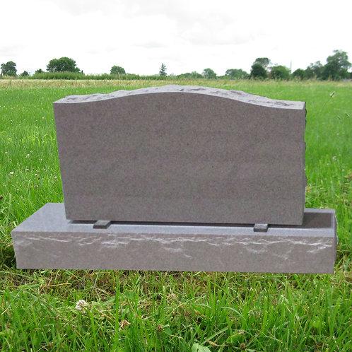 MN-237* Gray Serpentine Granite Monument