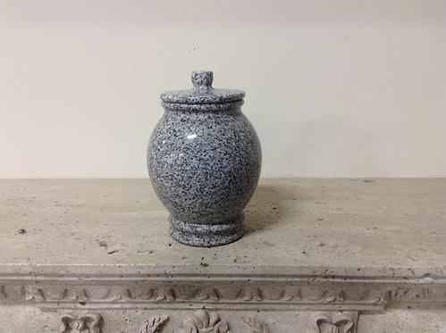 9x7 Granite Lunar Pearl Urn-D