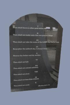 TC-1 Ten Commandments Summarized