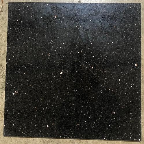 Black Galaxy Granite 18x18 Tile T-28