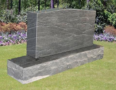 MN-32* Stardust Black Granite Cemetery Tombstone