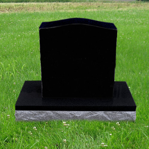 MN-210* Black Granite Small Marker