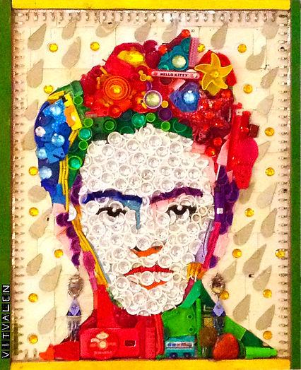 Mandala, mandalas, tampas de pet, recilagem, sustentável art, arte, quadro, painél