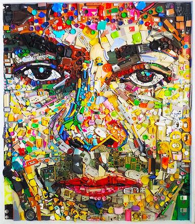 Painéis, murais, arte, art, recycle, reciclagem , reciclados, sucata, plástico, poluição, sustentavel, artesanato, plásticos, love, jair do amaral, museu da pessoa, vitvalen, sandro rodrigues, material recicado, eco