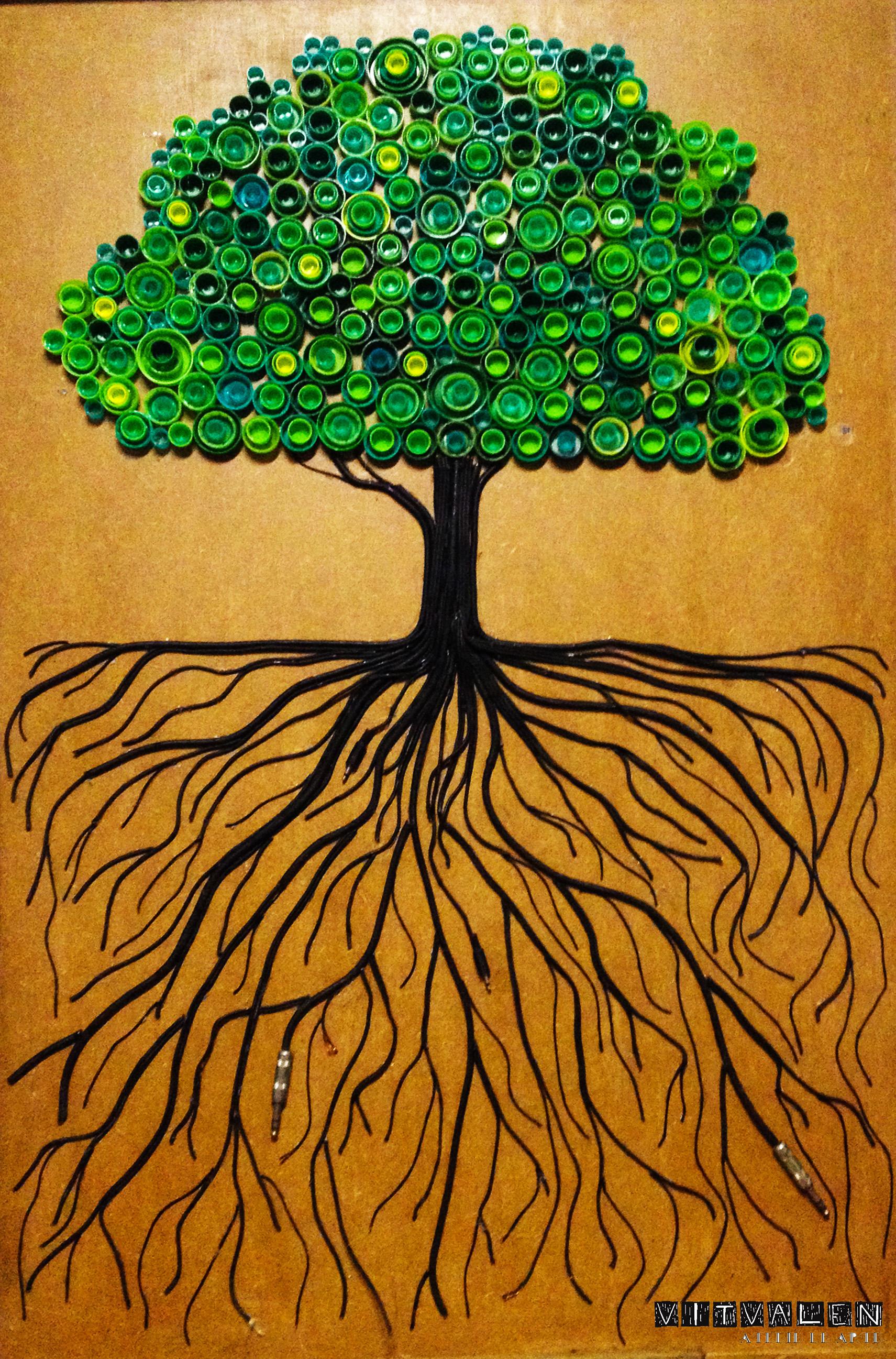 Á árvore do tempo- Acervo particular