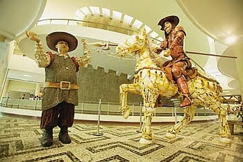 Dom Quixote, Sancho e Rocinante