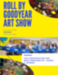 Roll by Good year art show presentation