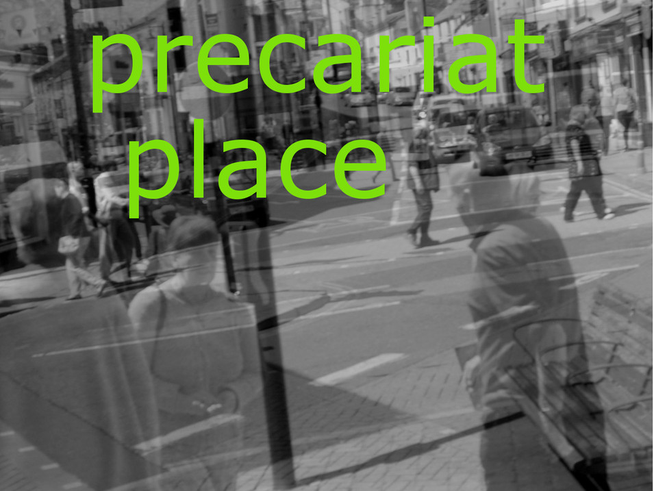 One Precariat Place - 1st collection of poems and monologues.