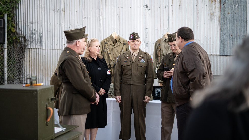 WWII Living Exhibit