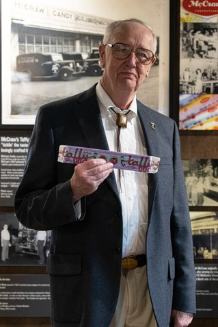 Judge John McCraw's family made the famous McCraw Taffy in Farmersville for almost a century.