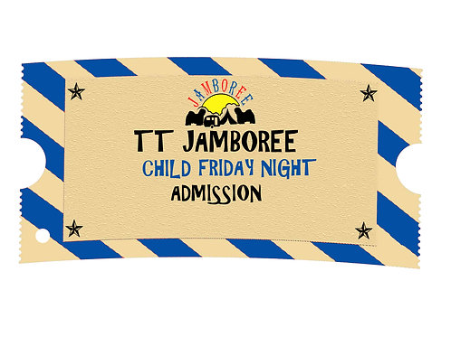 Child FRIDAY EVENING Admission