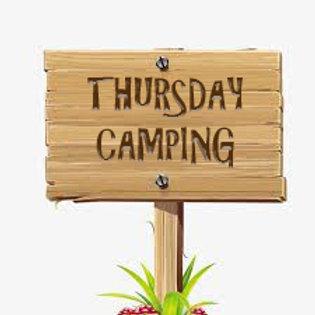 Thursday Camping