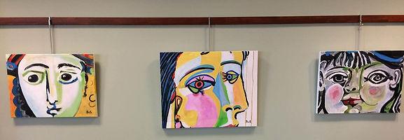 Sudbury Show 2019 Paula's Picasso Studie
