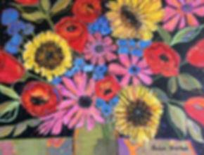 Three Sunflowers Nine Roses.jpg