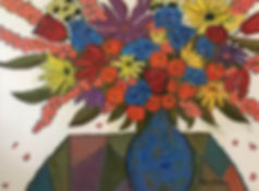 Bouquet on Harlequin Table.jpg