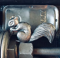 Squirrel detail from Mr. Frog's Dream.jp