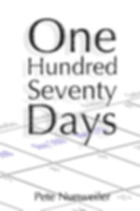 Cover of One Hundred Seventy Days. A memoir of the flesh-eating bacteria by Pete Nunweiler