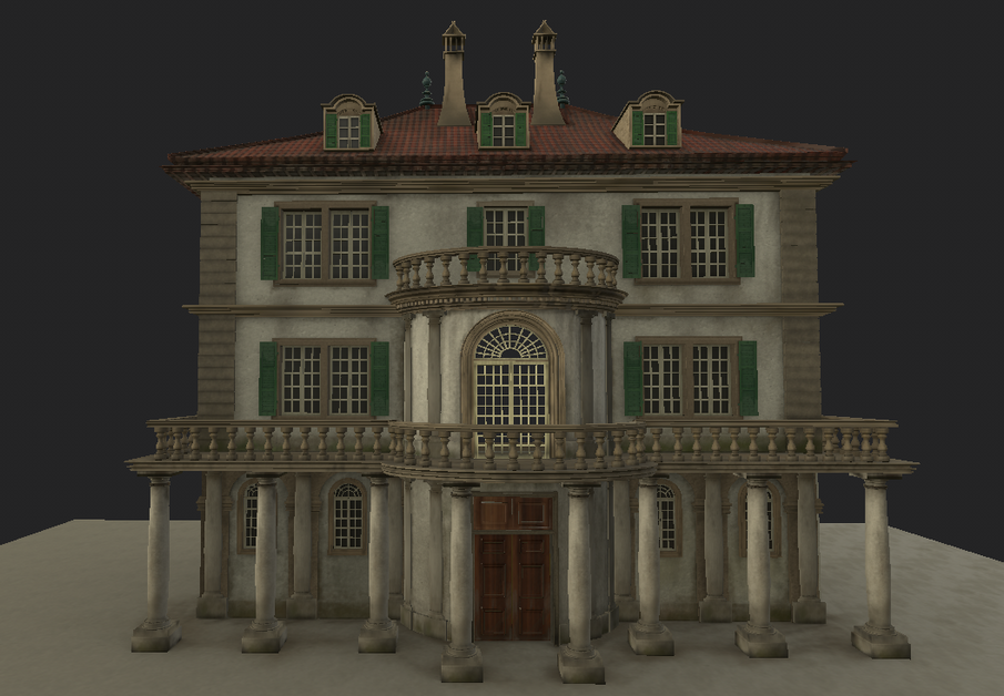 Mary's Exterior 3D Design (Blender+ Substance Painter)