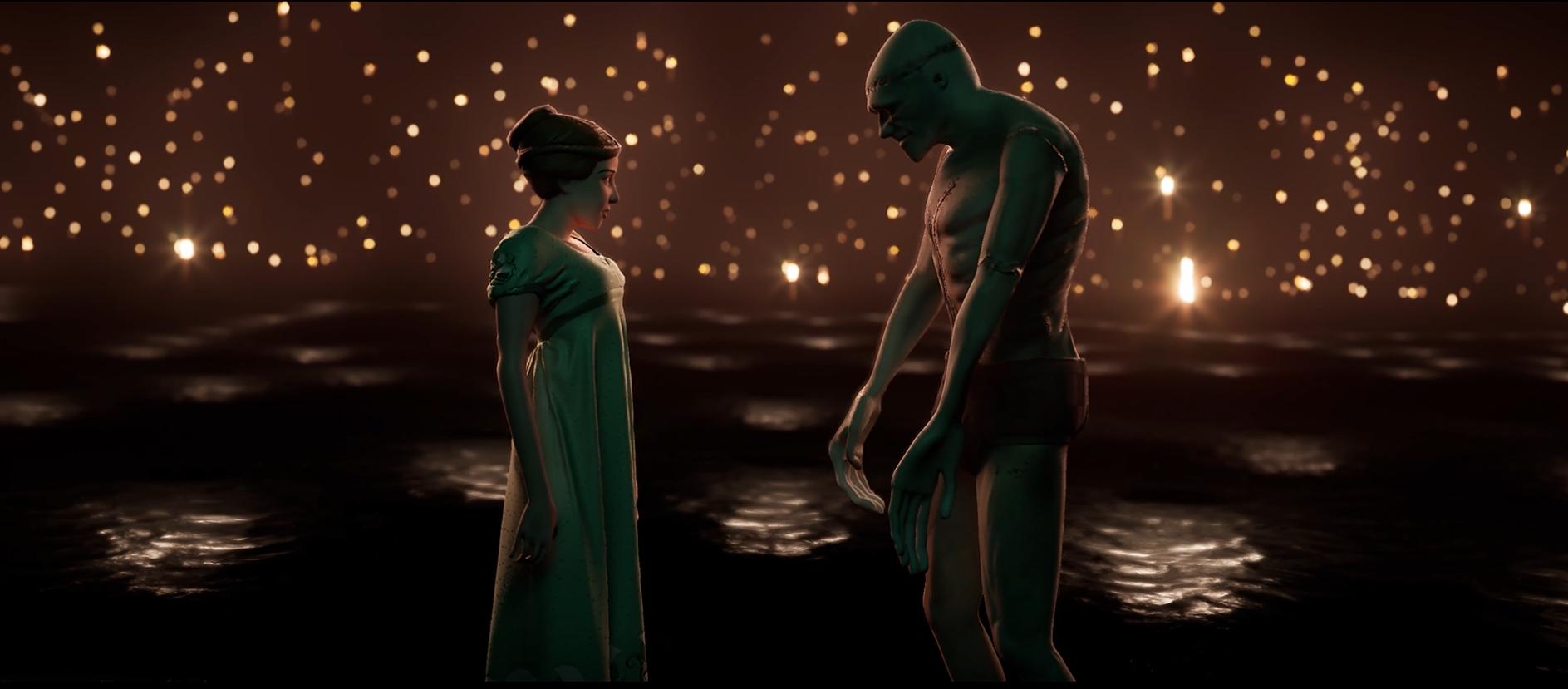 Screenshot of the Final Scene