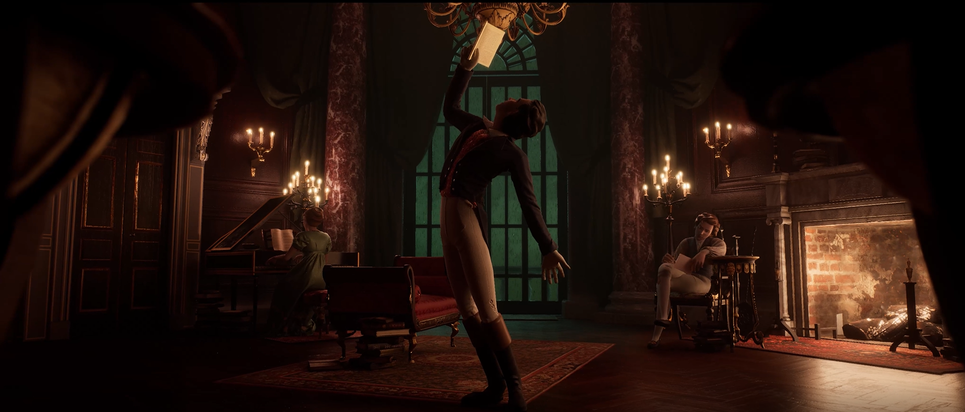 Screenshot of the Interior