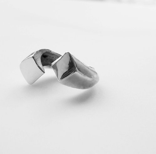 Double Noghte Ring
