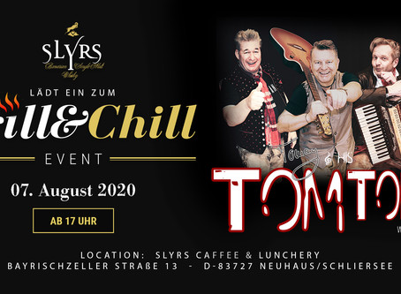 Grill & Chill mit Musik