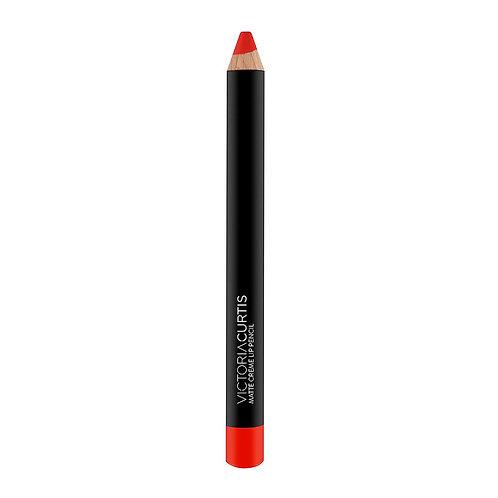 Matte Cream Lip Pencil Fire Red
