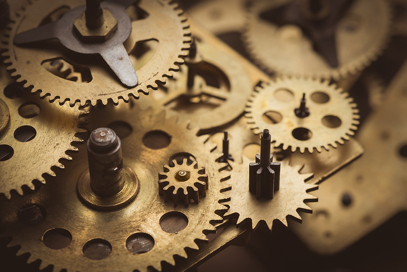 Engrenagens do relógio