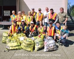 Neighborhood Cleanup 2019