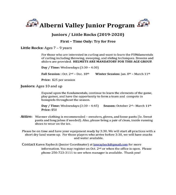 Alberni Valley Junior Program Sheet (3).