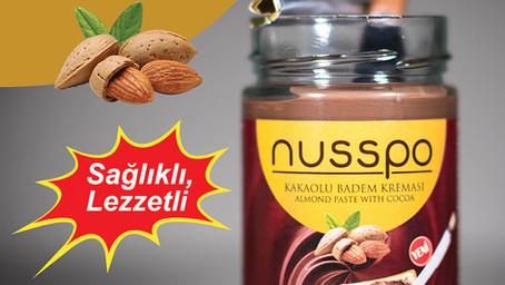 Nusspo'nun özgün lezzeti Kakaolu Badem Kreması Şimdi Tüm File Market Şubelerinde..