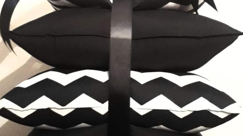 Paquete zig zag negro