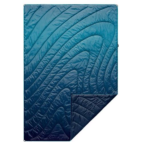 Puffy Blanket - Ocean Fade